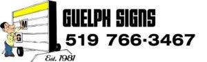 guelph signs logo